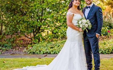 How TJ Perenara and Greer Samuel pulled off a surprise romantic backyard wedding