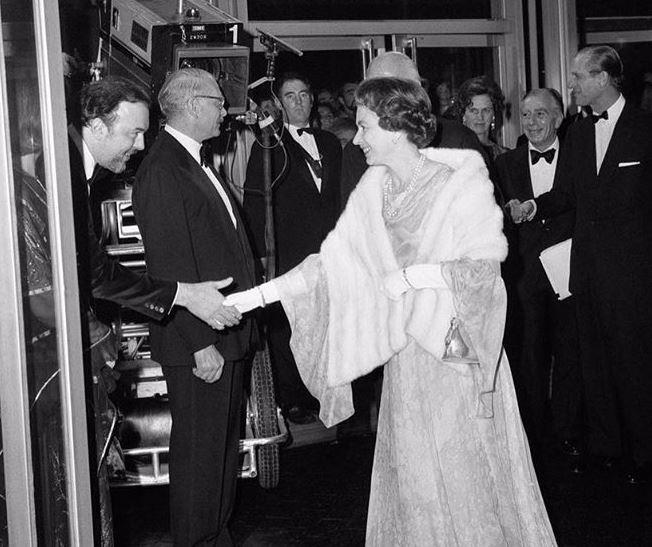 The Queen was the royal patron of the National Theatre for 45 years before passing the duties on to Duchess Meghan. *(Source: Instagram/@theroyalfamily)*