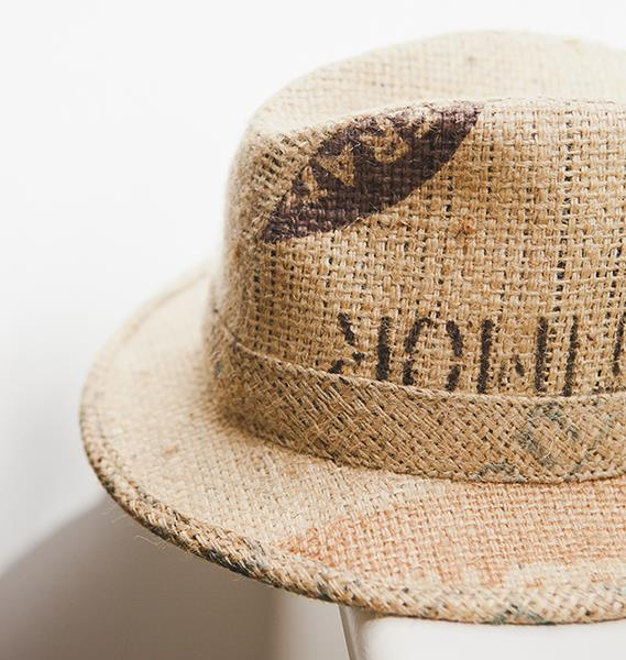 Starting with hats made from 100 per cent recycled coffee sacks, the company has expanded into hats made from wool and recycled jute. *(Image: Peta Mazey)*