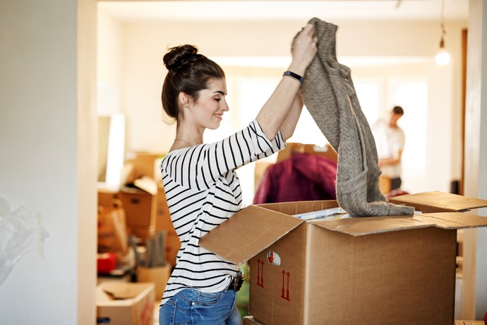 """Sometimes we only think of clutter as stuff in our home, but often we find clutter in our finances, calendars, to-do lists, and other areas,"" says Courtney. *(Source: Getty)*"