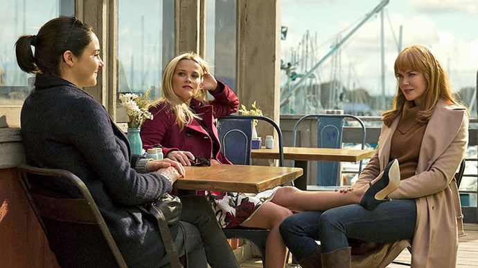 Filming *Big Little Lies* with Reese Witherspoon and Shailene Woodley