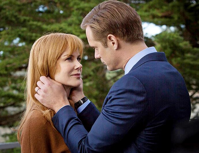 *Big Little Lies* was a punishing experience for Nicole, pictured  with co-star Alexander.
