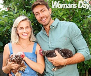 Art Green and Matilda Rice's family plans: they are so clucky!