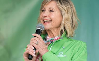 Why Olivia Newton-John isn't letting battling cancer for the third time get her down