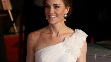 Duchess Catherine stuns in a gorgeous white gown at the 2019 BAFTA awards
