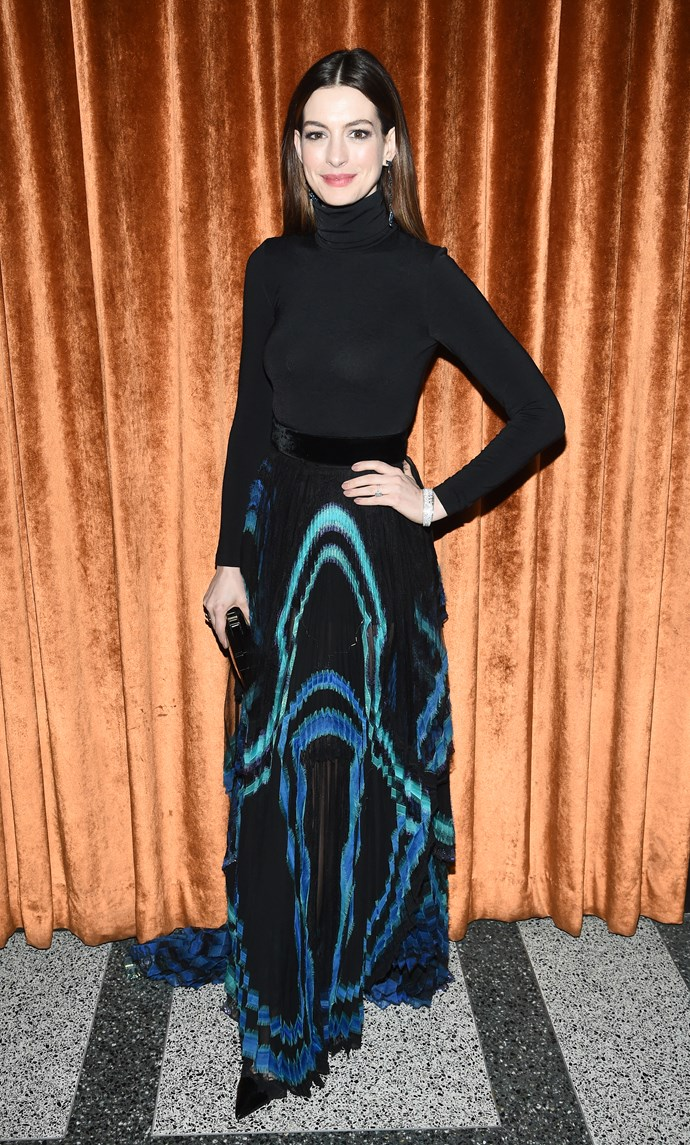 The Oscar-winning actress and mum says she's given up drinking for 18 years, until her son moves out of home. *(Image: Getty)*