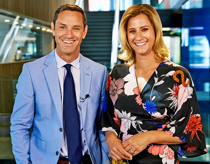 """With her fellow *Fair Go* presenter Hadyn, who she describes as """"awesome"""". *Image:Getty Images*"""