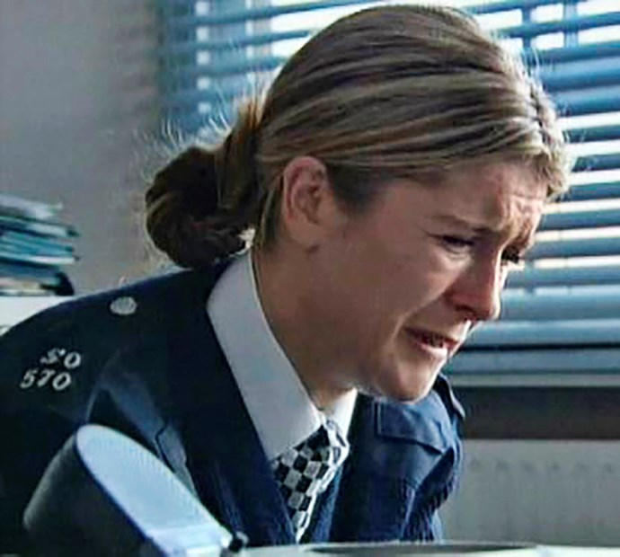 Connie also played reviled dirty copper Cathy on *The Bill*