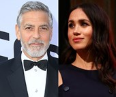 George Clooney comes out in defence of Duchess Meghan saying 'she's been pursued' like Princess Diana