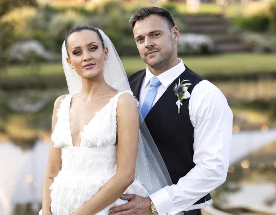 Bronson and his MAFS bride Ines Basic.