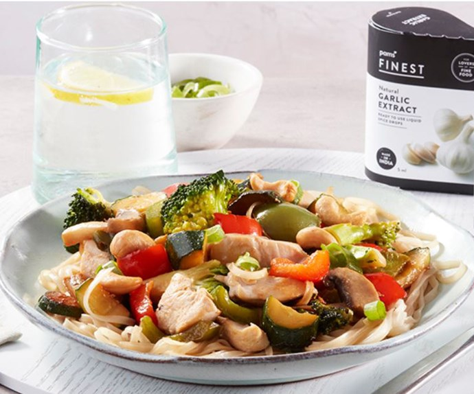 Switch up weeknight dinners with this quick and simple ginger chicken stir fry recipe