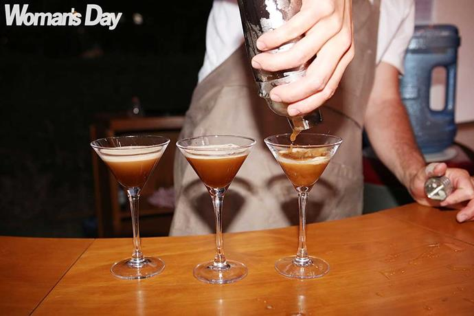 Batched Espresso Martinis for all!