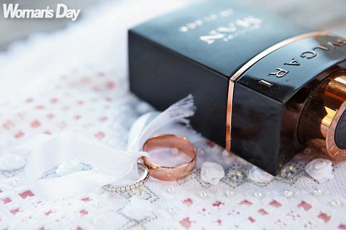 All the handsome groom needs to do now is remember those all-important rings from Libby's Fine Jewellery.