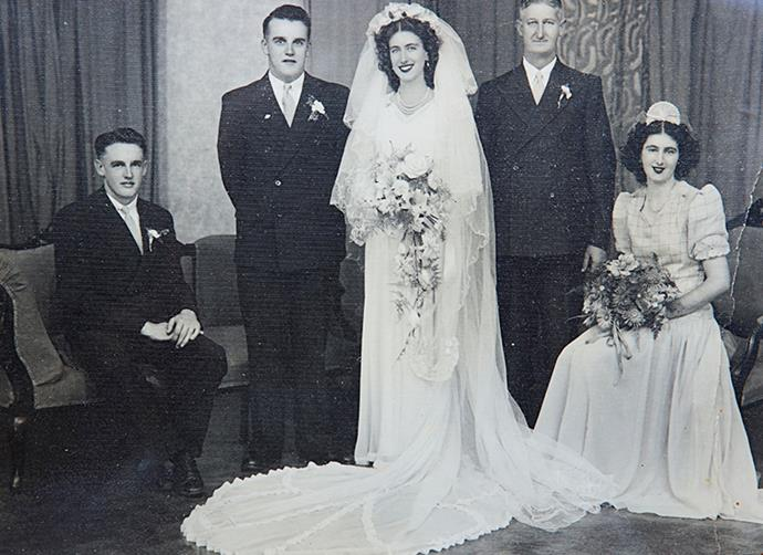 Syd and Coralee married at St Andrews Presbyterian Church, Manurewa on March 5, 1949.