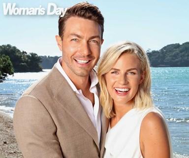 And baby makes three! Art Green and Matilda Rice's romantic Waiheke wedding surprise