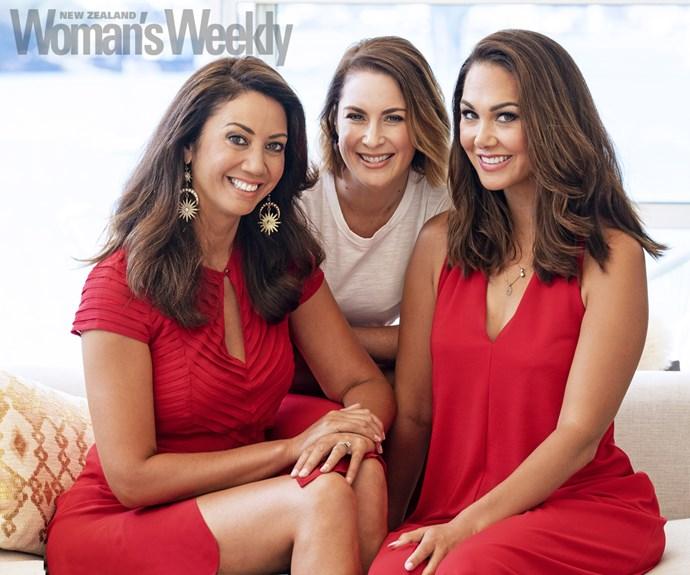 Renee Wright, Miriama Kamo, Melissa Stokes