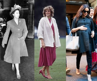 the queen princess diana and meghan markle pregnant
