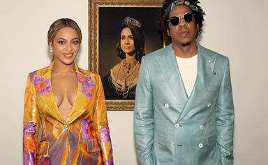 Beyonce and JAY-Z just made a surprising tribute to Duchess Meghan in their Brit Awards acceptance speech