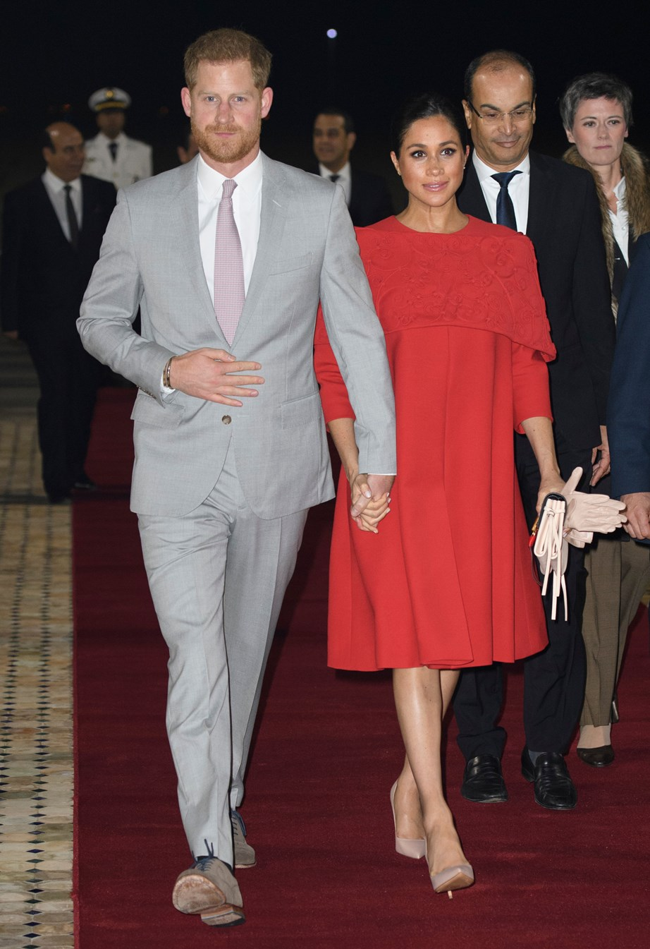 The Duke and Duchess of Sussex will be walking the red carpet of *The Lion King*'s European premiere on Sunday. *(Image: Getty)*
