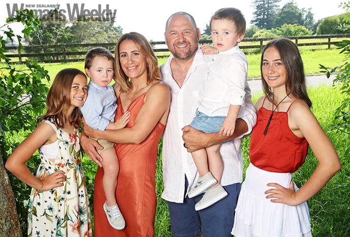 Life at home can be hectic for Leah, Atawhai, Jenny-May, Dean, Te Manahau and Libby-Jane, but a solid routine and help from Dean's parents ease the pressure.