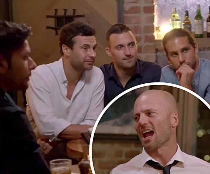 Married at First Sight MAFS boys night