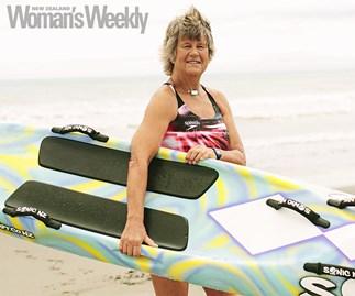 Carol Quirk surf life saving