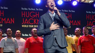 Hugh Jackman reveals a video of these Kiwi students moved him to tears as he announces NZ tour dates for his stage show