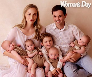 The Macdonald quads' 6-month milestone after a terrifying medical scare