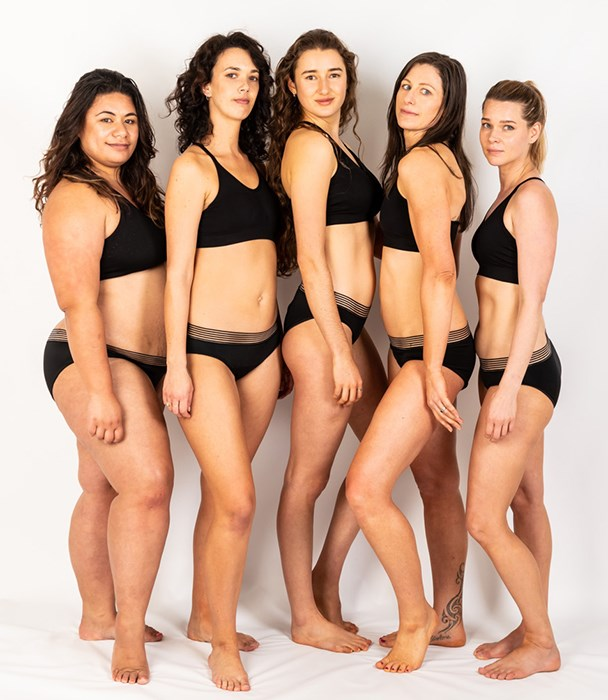 Kylie Matthews and Michele Wilson created I am Eva, a range of period-proof underwear.