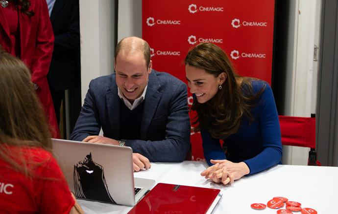 The Cambridges opened up about their parenting experiences with other parents at the charity organisation Sure Start in Ballymena. *(Image: Getty)*