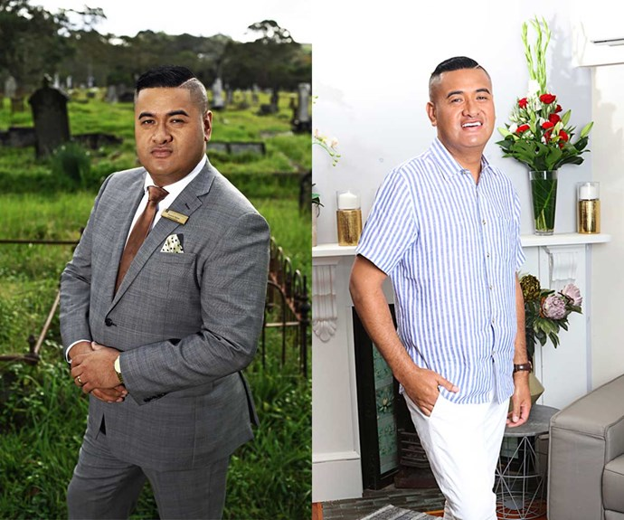 After dropping 43kg, Francis is now a trim 89kg – and loving his new wardrobe!