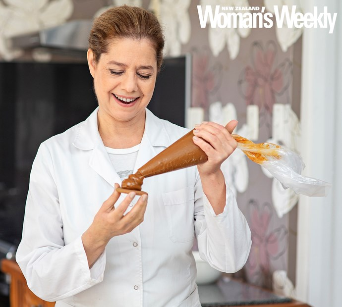 After realising she wasn't happy working as a doctor, Gabriela has the sweet life now, making marplatense and maizena biscuits.