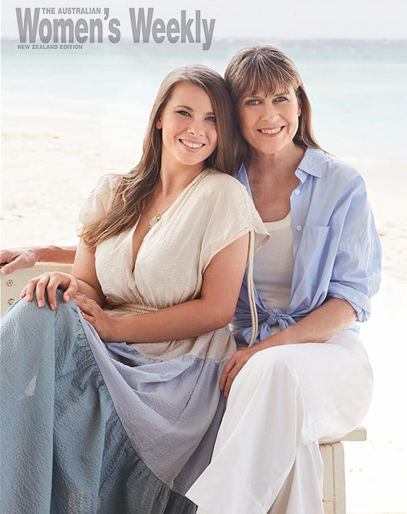 The island holds special memories for Bindi and Terri, who would holiday there with Steve. *photography by Corrie Bond.*