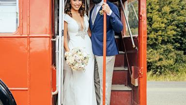 Newshub presenter Melissa Davies' star-studded Waiheke wedding
