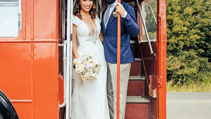 Melissa Davies wedding