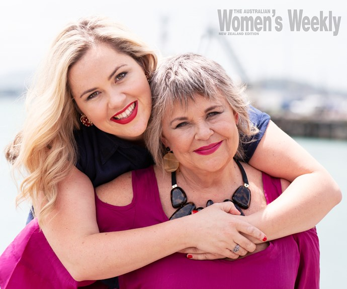 Ginette McDonald and daughter Kate McGill