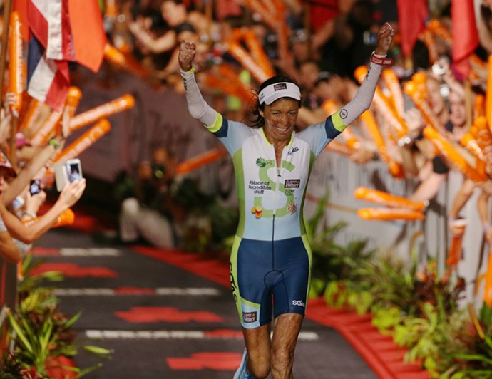 Turia at the Ironman Championships in Hawaii in 2016 *Photograph: Michael Klein*