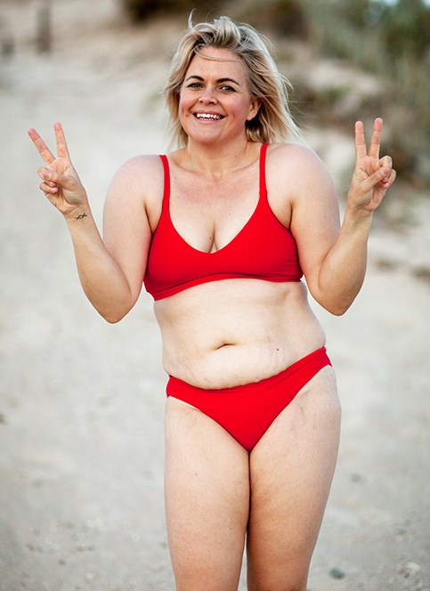 Former body builder Taryn Brumfitt says life is now more joyful. *Photo: Body Image Movement*