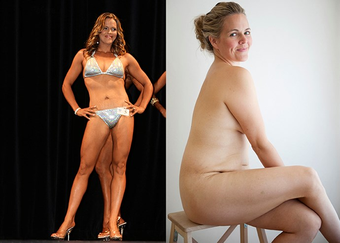 Taryn's body-builder physique and the more relaxed self she'd set free after a change of heart *Image:Kate Ellis*