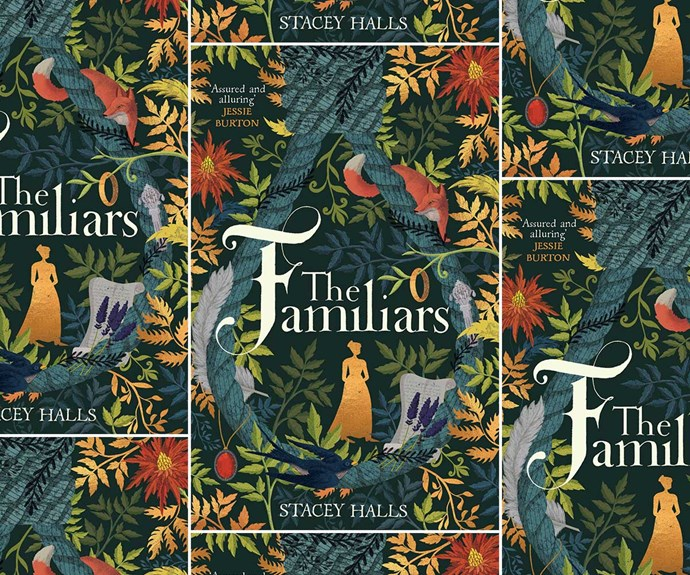 Be in to win the NEXT April book of the month, The Familiars by Stacey Halls