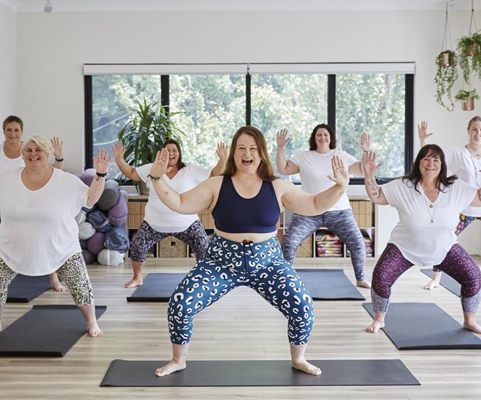Sarah Harry Fat Yoga