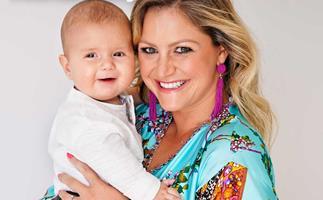 Toni Street surrogate baby Lachie