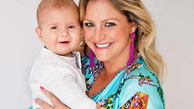 How Toni Street juggles the demands of work and motherhood now that new baby Lachie has arrived