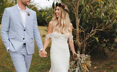 Shortland Street star Ben Barrington marries his bohemian dream bride Kristie