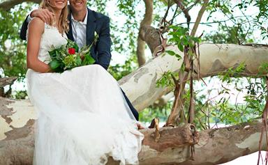 Olympic Kayaker Mike Dawson's cosy lakeside wedding