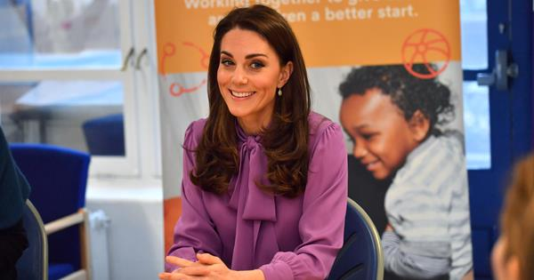Duchess Catherine Reveals 10 Month Old Prince Louis Is