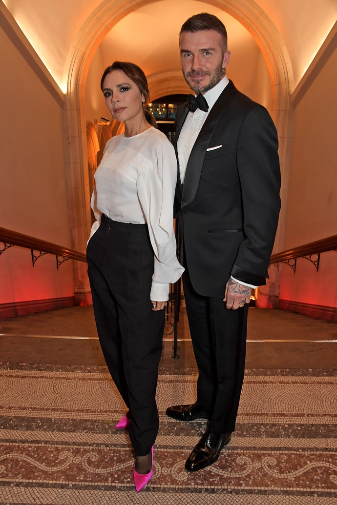 The Beckhams were just some of the many A-listers who attended the star-studded charity event. *(Image: Getty)*