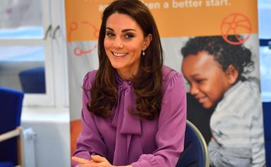 "Duchess Catherine reveals 10-month-old Prince Louis is ""bombing around"" with his baby walker"