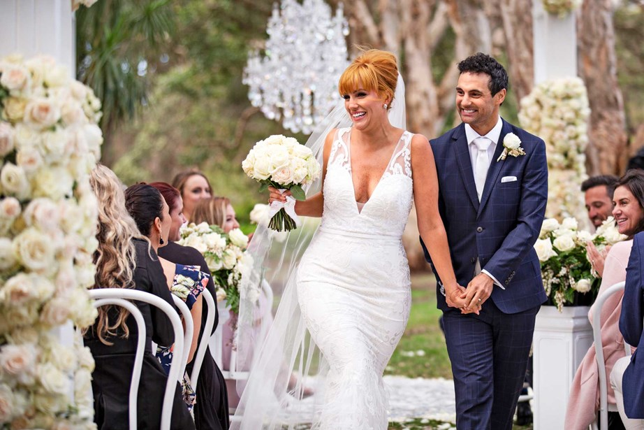 Golden MAFS couple Jules and Cameron Merchant, who have since remarried, honeymooned in the Bay of Islands in the 2019 series.