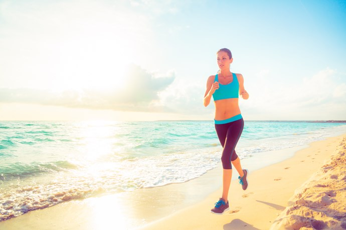 The results showed that the more vigorous the activity, the less likely someone with large breasts would participate in it because of the discomfort it can bring, for example jogging. *(Image: Getty)*